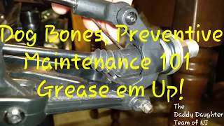 Losi MTXL DogBones Preventative Maintenance 101 How to Grease em Up!