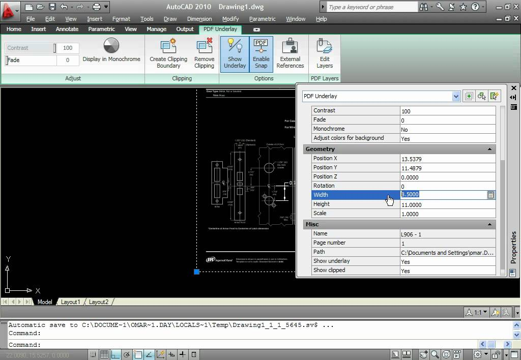 How to convert PDF to AutoCAD 2010 DXF or DWG - YouTube
