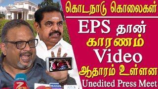 Kodanad murders mathew samuel open challenge to  Edappadi K Palaniswami tamil news live