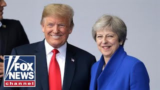 President Trump, UK PM May hold joint press conference