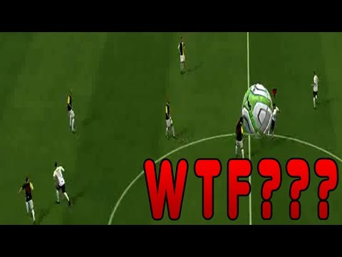 FIFA 14 THE BIGGEST FAIL EVER BIG BALL BUG !!!