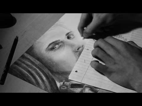 Far Cry 3 Jason Brody Drawing - Time Lapse