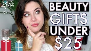 BEST Beauty Gifts UNDER $25! // 2018 Holiday Gift Guide!