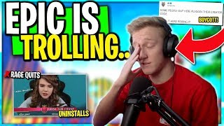 Pros Uninstalling and Boycotting Epic.. Tfue Proves Epic Wrong on Mech