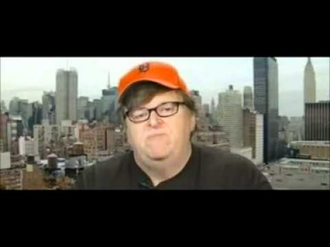 Michael Moore explains Occupy Wall Street to the BBC