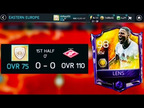 LENS CAMPAIGN With 70+ OVR GOLD TEAMS / MBAPPE VS LENS Gameplay Comparison Review - fifa Mobile