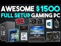 Awesome $1500 Full Setup Gaming PC Build 1080p/1440p Gaming PC January 2017.mp3