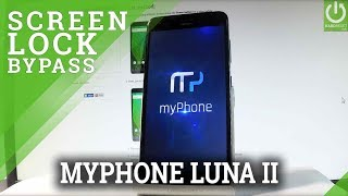 How to Hard Reset myPhone Luna II - Remove Screen Lock