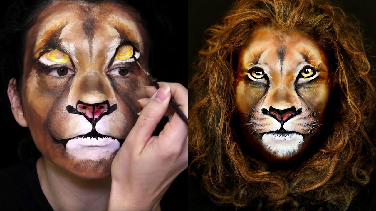 White face makeup