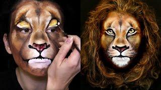 Lion Makeup & Face Painting Tutorial