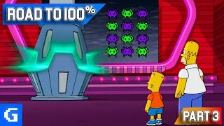 The Simpsons Game [Road to 100%] [#03] - SPACE INVADERS!