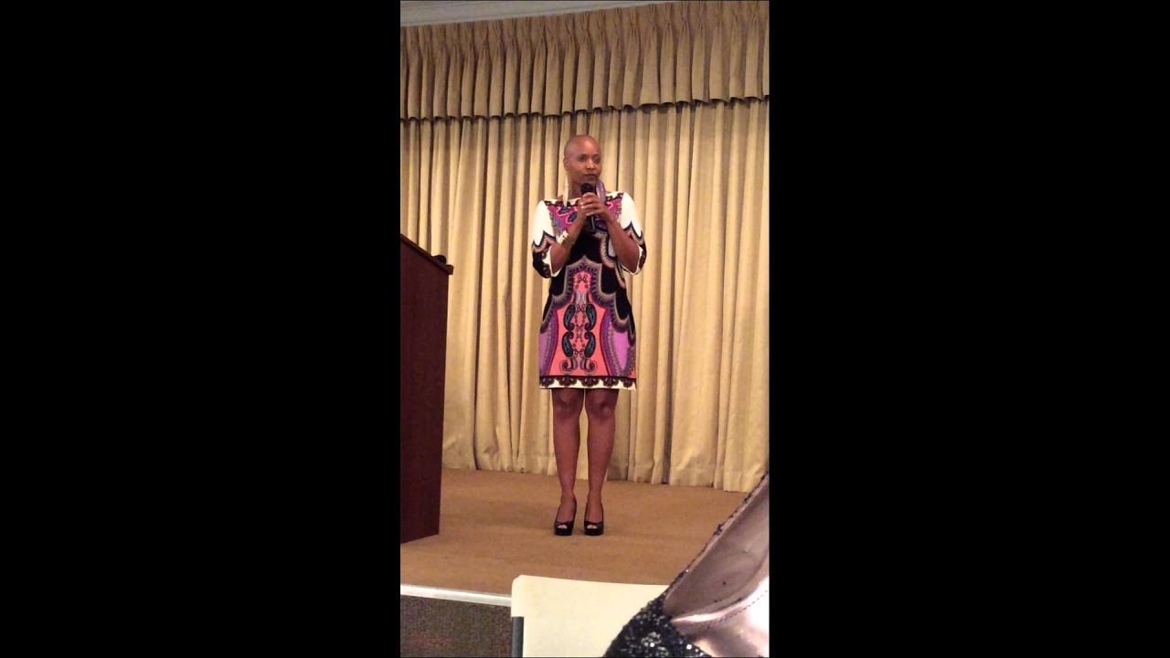 Cheron K. Griffin: JUST FINE SPEECH - YouTube