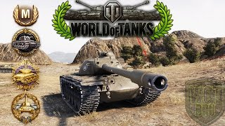 World of Tanks - T110E5 - 10 Kills - 9.5k Damage - 1vs5 [Replay|HD]