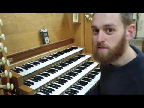 Full Organ at Sacred Heart Cathedral