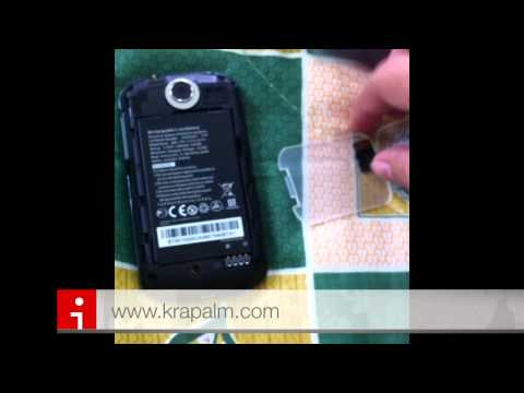 Acer beTouch E140 Unboxing