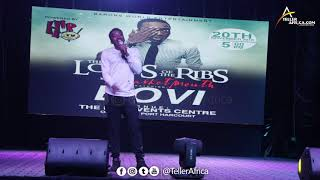 Bovi at Lord Of The Ribs with BasketMouth