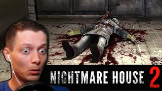 NIGHTMARE HOUSE 2 ➤ НАШЕЛ ТОПОР В ТРУПЕ ➤ Прохождение Часть 2
