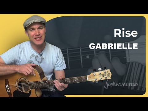 How To Play Rise By Gabrielle (Acoustic Guitar Lesson SB-213)