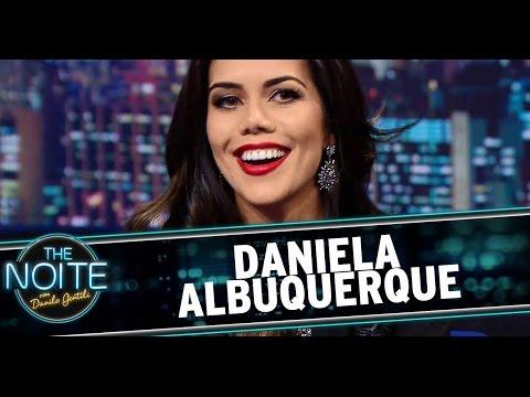 The Noite (01/09/14) - Entrevista com Daniela Albuquerque