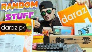 Random Stuff From Daraz PK | Unboxing Review | Gadgets Gate