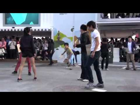 Korean Shuffle dancing video