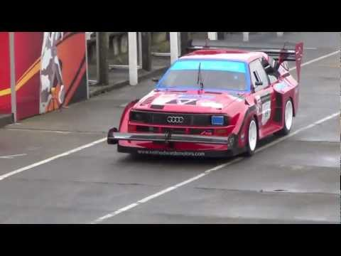 850bhp Audi Quattro Sport 'Pikes Peak' with KEM Racing on the Isle of Man