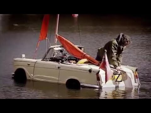 BBC: Top Gear - The Car Boat Challenge - Amphibious Cars in a Lake!