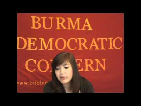Burma Democratic Concern (BDCs) call for immediate ceasefire in Kachin State