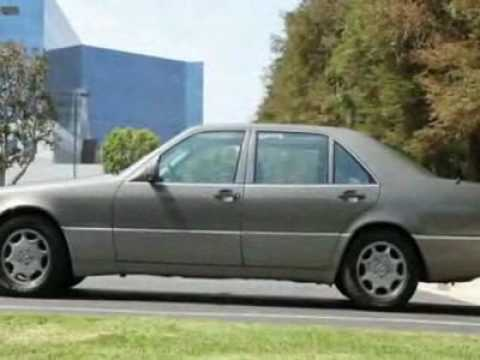 1993 mercedes benz 400 sel sedan youtube for 1993 mercedes benz 400sel for sale