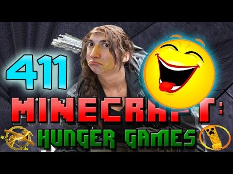 Minecraft: Hunger Games W mitch! Game 411 - Fishing In A Hole! Funny! video