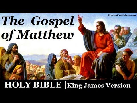 Holy Bible: Gospel Of Matthew - Full Audio Book | Greatest Audio Books video