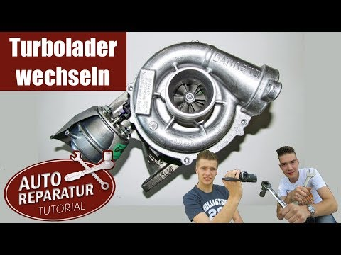 Turbolader erneuern wechseln Turbo reparieren [Tutorial] HD Turbocharger repair install