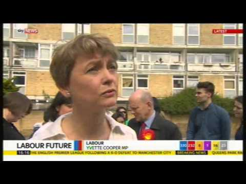 Yvette Cooper on Labour leadership contest, 10th May 2015