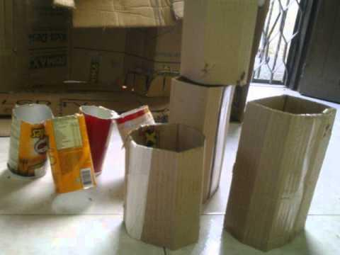 Juguetes de material reciclado paso a paso