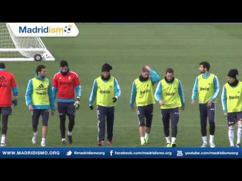 Real Madrid Training ahead of Celta Vigo Vs Real Madrid