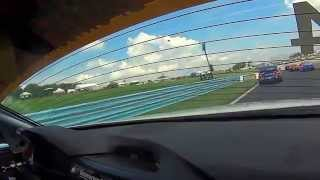 BimmerWorld Racing Jason Briedis BMW F30 328i Watkins Glen Race Restart
