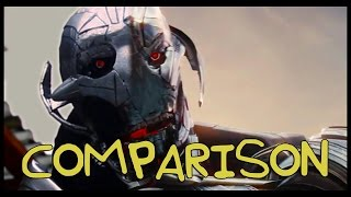 Avengers: Age of Ultron Trailer with TJ Smith - Homemade COMPARISON