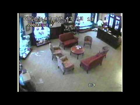 Security footage: Hero thwarts terrorist shooter at Family Research Council