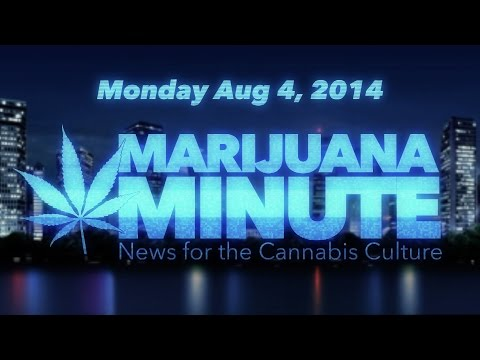 Marijuana Minute, Aug 04 2014: Is Marijuana Use Related to Psychotic Diseases Like Schizophrenia?