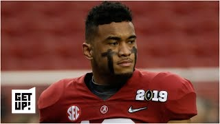 Why Tua Tagovailoa is No. 4 on Mel Kiper Jr.'s 2020 NFL draft big board (a WR is No. 1) | Get Up!
