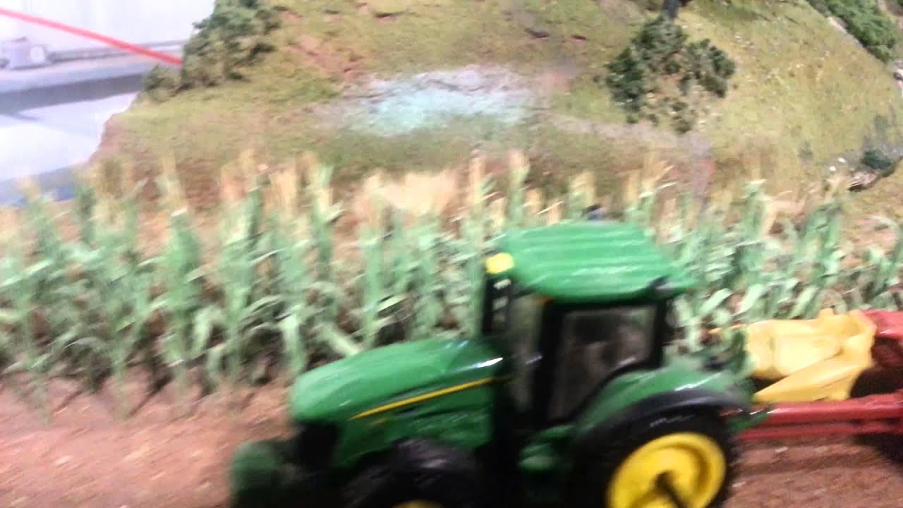 The now larger 1 64 scale farm display youtube for 1 64 farm layouts
