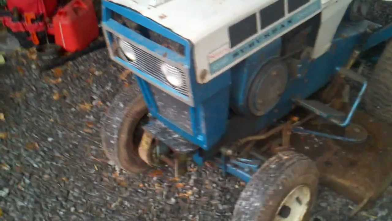 1966 Sears Suburban 10 Hp 6 Speed Garden Tractor