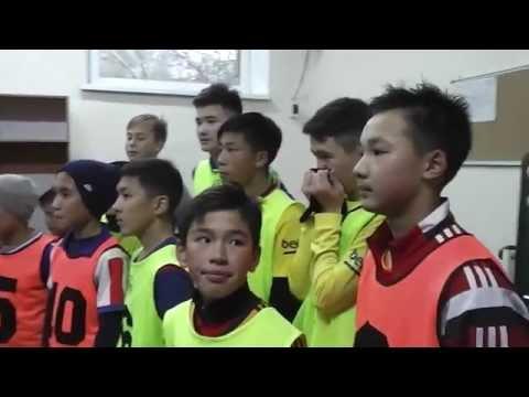 Объявление итогов отбора юношей 2003 г.р в академию футбола Алтай