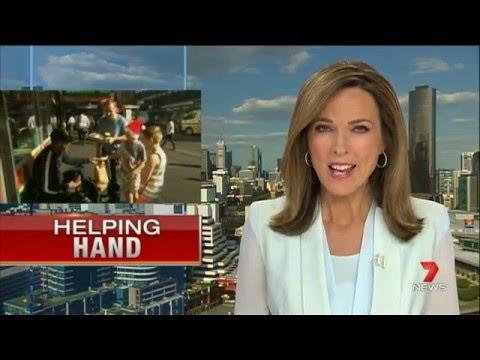 Hayden's Helping Hands Christmas Eve Breakfast on  7 News at 6