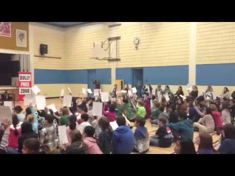 Donny Parenteau performs at Wildwood School in Saskatoon, Nov. 22 - 11/22/2013