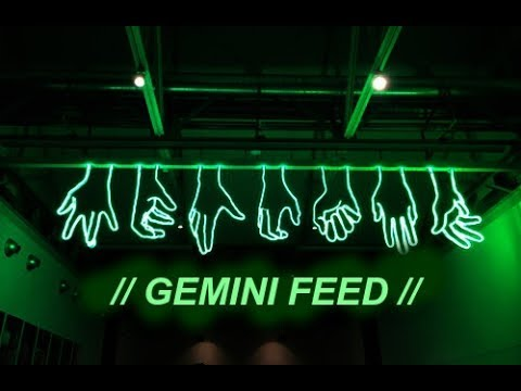 banks // gemini feed [lyric video]