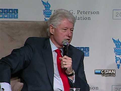 Bill Clinton on Goldman Sachs & SEC