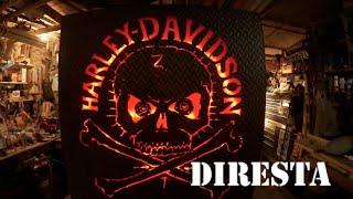 ✔ DiResta H-D Steel Sign