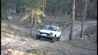 Lada Niva VS Nissan Patrol Traction