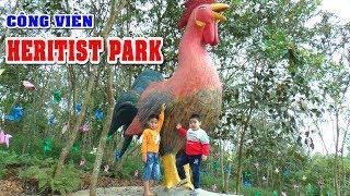 Bé DƯƠNG và CHUỘT chơi công viên HERITIST PARK Tập 1❤Kênh Em Bé